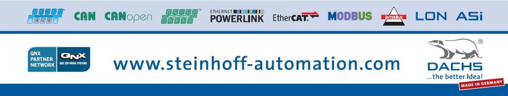 STEINHOFF Automation, the fieldbus expert for realtime solutions